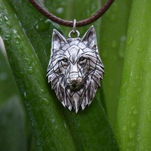 1pcs Norse viking loup collier