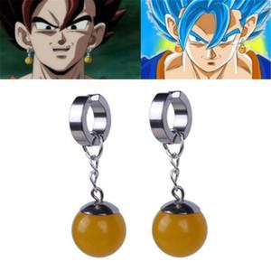 Super Dragon Ball Z Vegetto Potara Black Son Goku Cosplay Costumes Ring Zamasu Earrings Ear Stud
