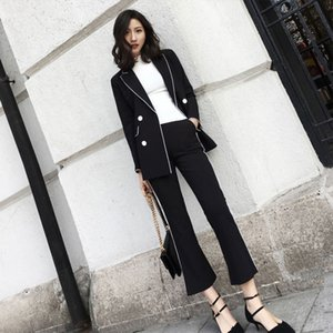 port of a suit of new fund of 2020 autumn taste small sweet atmosphere quality, and the goddess two-piece van fashion