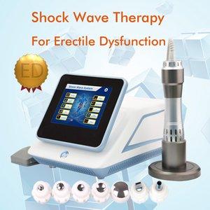200mj Onda de choque faible puissance Shockwave Therapy Equipement / appareil acoustique d'ondes de choc pour la machine ED treament avec 7 émetteurs