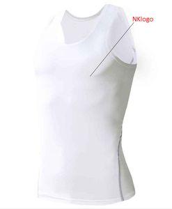 NUEVO 2019 Medias de deporte de verano Camiseta sin mangas pitillo hombres para correr correr estiramiento GYM rápido secado baloncesto fútbol entrenamiento chaleco hombres