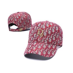dior 13 colori all'ingrosso di snapback Marca cofano stilista dei cappelli uomini donne autunno e l'inverno berretto da baseball selvaggio ins casuale della protezione hop moda hip