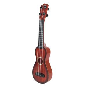 طفل \ 'ق لعبة للتربية القيثارة الصغيرة البسيطة 4 سلاسل الغيتار للمبتدئين هدية