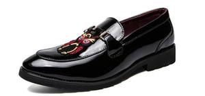 2021 Nova Chegada Men's Groom Sapatos Vestido Sapatos Populares Homecoming Pageant Oxford Sapatos Masculino Zapatillas Hombre
