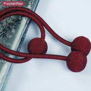 1Pc Curtain Fibbie stile dell'Europa magnete Tende Tieback Cornicioni Magnetic Curtain accessori x