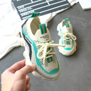 2020 new kids shoes kids trainers kids sneakers chaussures enfants casual boys shoes girls shoes running shoe boys trainers retail B1183