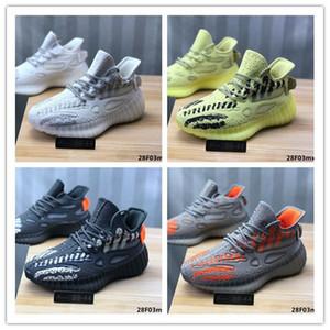 2020 Nuevo hombre de All Star de los zapatos corrientes 3M estático V3 Kanye West V6 Zapato Rojo Amarillo Blanco Crema Negro Deportes Seankers diseñador de los hombres Des Chaussures 5M