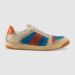 Best Quality Fashion Men Donne Screener Sneaker Sneaker Designer di Lusso Scarpe Moda Scarpe Casual Dimensioni 35-45 Modello QJ01