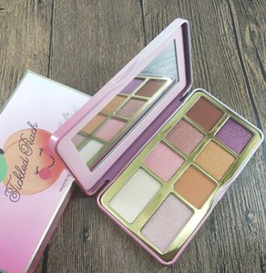 maquillage New Eye makeup Faced Sugar Cookie or Tickled Peach Mini Eyeshadow Make Up Holiday Chirstmas 8color eyeshadow palette