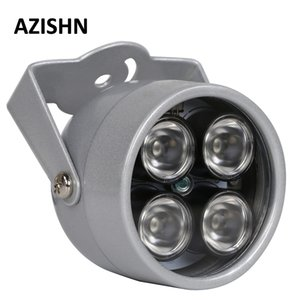 حماية الأمن AZISHN المصابيح IR 4 مجموعة بقيادة إضاءة ضوء الأشعة تحت الحمراء الأشعة تحت الحمراء للرؤية الليلية للماء CCTV الضوء لملء CCTV