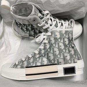2020 Новые цветы Техническая Canvas B23 High Top Low Sneakers платформа марочные в Косой Мужские B24 Женская мода сапоги Повседневная обувь