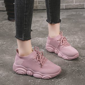 Sexy2019 Single Code Will Shoe Chaussures Chaussures Fly Tissu Ulzzang Little Bear Ventilation Baskets Femme