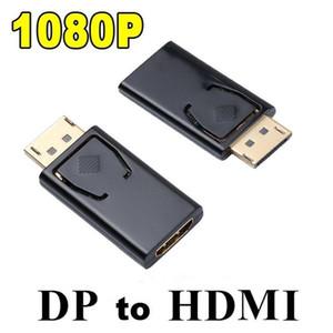 HDMI 여성 변환기 접합기 맥북 직업적인 공기를 위해 적합했던 영상 오디오 연결관에 1080P 전시 항구 DisplayPort DP 남성