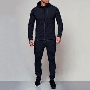 1 2020 Mens Sports Suit Fashion Casual Designer Brand Pure Cotton Fabric Simple Design Style Size M-4XL Couple Style Suit