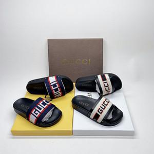 Kid chinelo sapatos de grife de moda para Boy Girl Baby Beach Verão sandálias de alta qualidade para miúdos criança UE 26-35 02