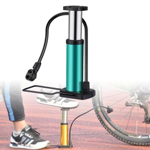Bike Pump Mini Floor Foot Activated Bicycle Air And Aluminum Alloy Portable Mountain Tire Com Bike Pumps
