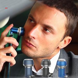 남성 미니 자석 흡입 전화 면도기 휴대용 빨 충전식 전기 면도기 방수 면도기 기계에 대한 여행