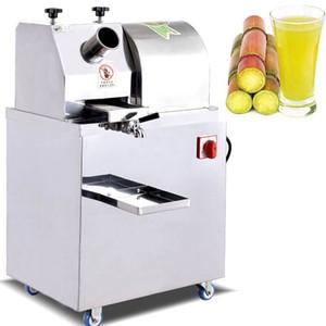 Automática de cana Juicer Machine / Sugar Cane Juice Machine / Commercial Sugar Cane Crusher Machine / Sugar Cane Extractor 220V