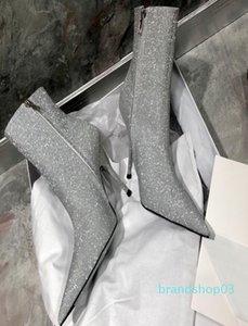 Горячая распродажа-нуво прилив девушка сапоги женщина британский стиль заклепки сапоги Мартин сапоги осень зима 2018 новые туфли на высоком каблуке