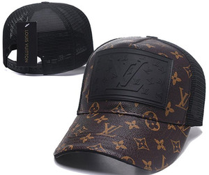 2019 mejor venta de la marca de calidad superior otoño invierno unisex sombrero casual V carta cap hombres diseñador de las mujeres gorra de béisbol moda sombreros de golf