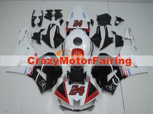 Novo estilo ABS Molde de injecção motocicleta carenagens Kits 100% apto para Honda CBR600RR F5 13 14 15 16 17 2013-2017 carenagens definido branco preto vermelho