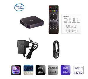 Amlogic S905W X96 Mini Android 7.1.2 WIFI 4K Media Player Smart Set Top BOX option 1+8g 2+16g