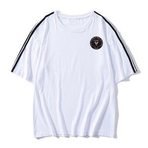 Inter Miami cf mens Soccer Football T shirt adult Short sleeve Soccer Jerseys summer fashion Leisure Brand Football shirt Men's T-Shirts