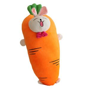 Dorimytrader поп большой мягкий морковь плюша мультфильм подушку чучела аниме овощи морковь игрушка подушка ребенка Рождественский подарок 150см DY61849