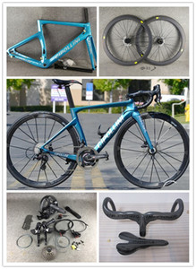 Bleu cipollini nk1k disque carbone route route complète vélo R7020 discussion de discussion de disque cipollini guidon 6 boulons moyeu