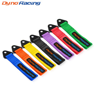 Dynoracing Tow Strap High Strength Nylon trailer Tow Ropes Racing Car Universal Tow Eye Strap / Towing Bars/Bumper Trailer