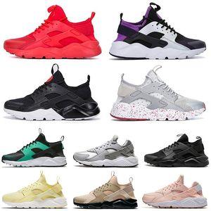 huarache Trainers Huaraches Ultra 4.0 Hurache Running Shoes para hombres Triple White Black Huraches Sports Sneakers Harache Mens designer shoes