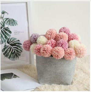 Искусственные цветы украшения партии искусственные растения Свадьба День Рождения поддельные цветы 29 см одуванчик мяч отель украшения помпон букет
