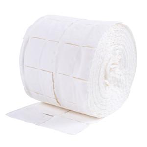 500pcs / rulo Tırnak Pamuk Mendil UV Jel Tırnak İpuçları Cila Sökücü Temizleyici Lint Kağıt Pad Nail Art Temizleme Manikür Aracı RRA2851 Soak