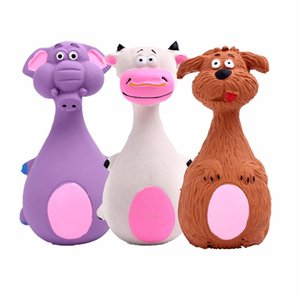 Cute Pet Toys Puppy Dog Toys Plush Sound Squeaky Chicken Legs Shape Cat Animal Chew Different Kinds Patterns Pets Bite Dolls