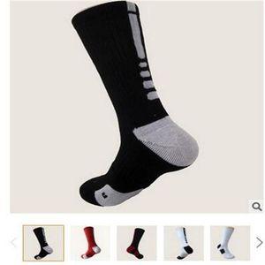Gestreifte USA Profi Elite Basketball Socken Lange Knie athletischer Sport Socken Herren Compression Winter Thermo-Socken Großhandel Qualität