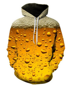 New Fashion Harajuku Style Casual 3D Printing Hoodies Beer Men   Women Autumn and Winter Sweatshirt Hoodies Coats BW0168