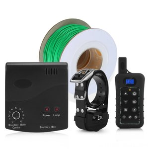 Dog training collar + Fence Wireless, Rechargeable Transmitter Dog Supplies Pet Supplies and Receiver, The Newest Containment System