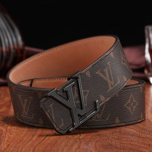 Men Belt Fashion Designer Belts Luxury Belt Man Woman Brand Belts Casual F Letters Logo Smooth Buckle Width 38mm High Quality Gift with Box