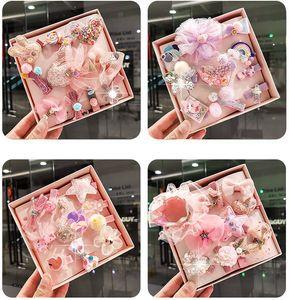 10Pcs / clip Lucido regalo di capelli della neonata bambino Hairband Accessori Bambina forcine Crown Princess Archi Copricapo Bambini Barrettes