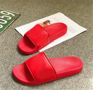 Дизайнерские Тапочки Новые письма Desinger Слайды мужские Вьетнамки Summer Fashion 666