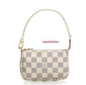 Mini Acessórios Pochette N58010 New Mulheres Mostra Moda exóticas bolsas de couro Bolsas Iconic Evening Embreagens Cadeia Carteiras Purse