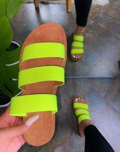 Green Blue Black Leopard Women Slipper Summer Open Toe Platform Slide Ladies Fashion Hollow Light Slip On Sandals Woman Shoes DHL Free
