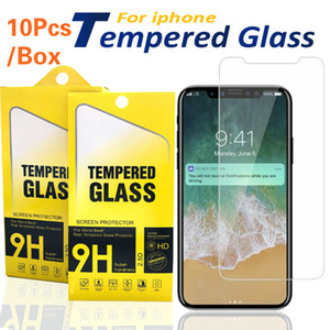 Screen Protector for iPhone 11 Pro Max XS Max XR Tempered Glass for iPhone 6 6s 7 8 Plus se 2 5s LG stylo 5 Moto E6 Protective Film 0.33mm