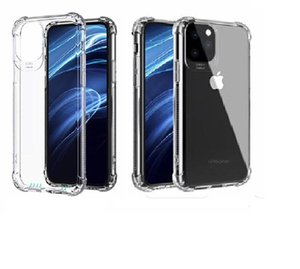 Soft TPU Shockproof Transparent Cover For iPhone 11 Pro XS MAX XR 7 8 6S Plus Cell Phone Case For Samsung Note 10