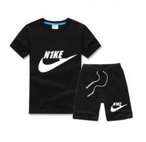 Ropa infantil privada de comercio exterior en la primavera y el otoño 2019 párrafo traje boutique infantil de ocio marca traje deportivo con sho