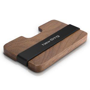 Newbring Handmade Wooden Wallet Men Multifunktionsschlüssel Geldbörse Und Kartenhalter Y19051702