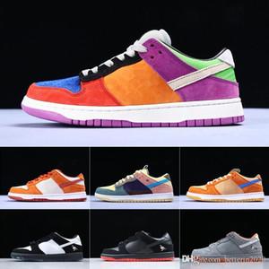 Nike Conceptos de los hombres x deportes SB Dunk Low Los zapatos del diseñador de langosta diamante Su estrella de la manera únicos zapatos ocasionales de los deportes 36-45