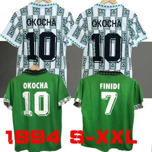 Top 1994 Nigeria Retro pullover di calcio 94 di calcio della camicia Okocha maglia Yekini Classic maillot de foot
