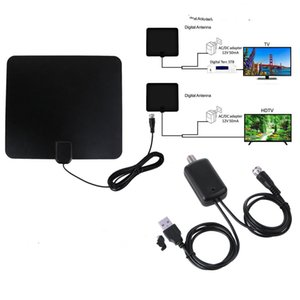HDTV DTMB ATSC isdb-t dvb-t terrestrial wave TV antenna is Compatible with 720p, 1080i, 1080p  ATSC Free shipping