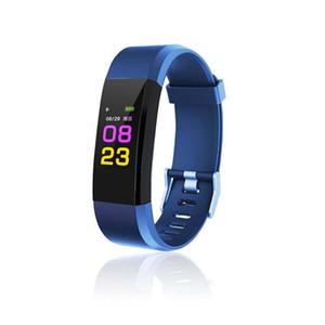 ID115PLUS Pulseras Inteligentes Pulsera de Fitness Monitor de Ritmo Cardíaco Smartband Pulsera Impermeable de Fitness Pk Mi Band 2 Fitbits